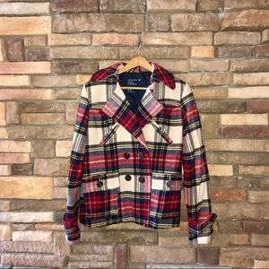 American Eagle Plaid Jacket